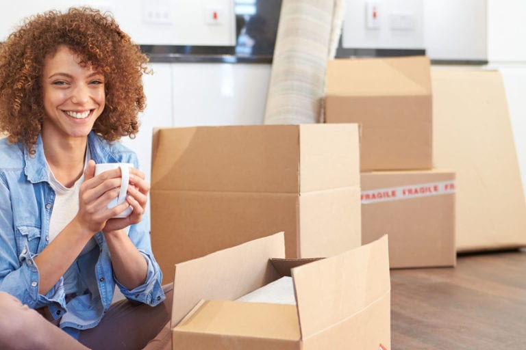 Helping you move out of your room basement | Get wardrobe boxes and bubble wrap for your household items